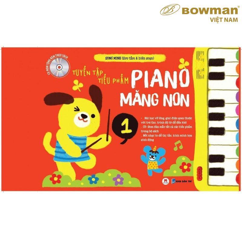 Tuyển Tập Tiểu Phẩm PIANO Măng Non - Phần 1