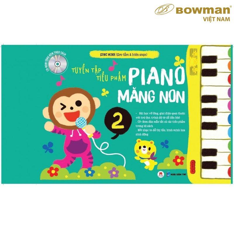 Tuyển Tập Tiểu Phẩm PIANO Măng Non - Phần 2